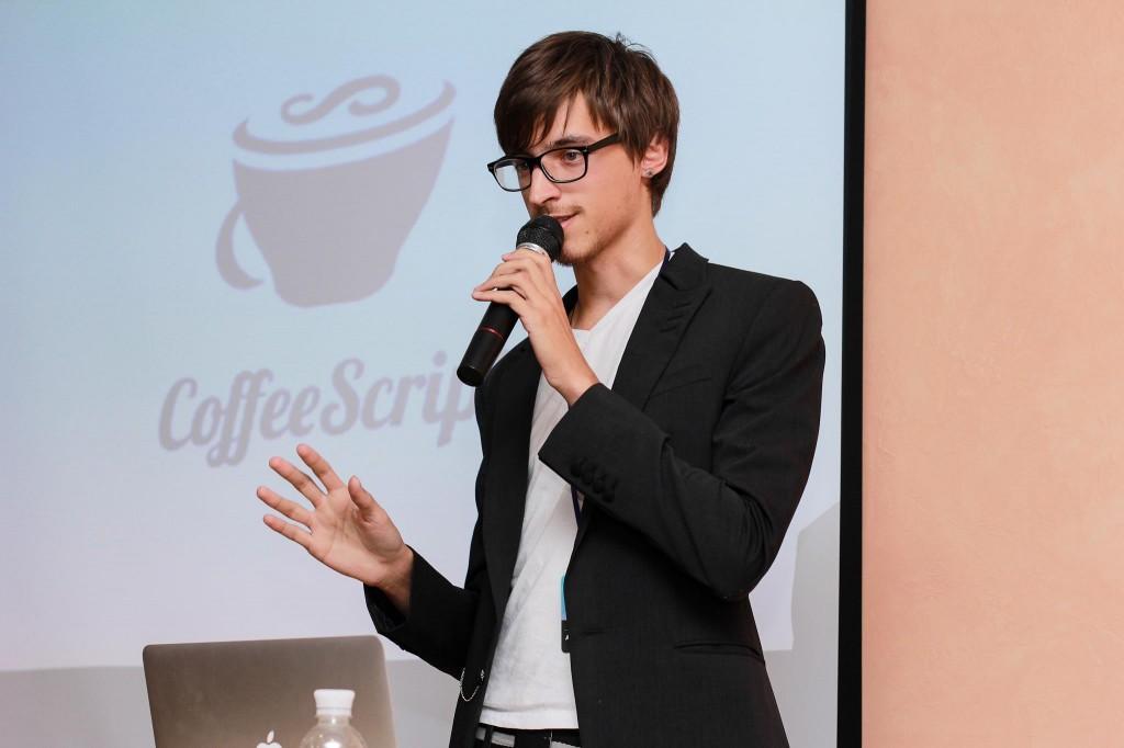 Александр Стриха на конференции WordPress Kitchen в Киеве