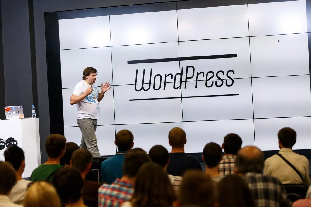 Николай Миронов на WordCamp Russia 2013