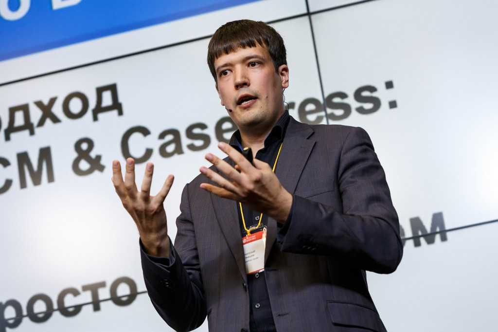 Анатолий Юмашев (основатель студии CasePress) на WordCamp Russia 2013